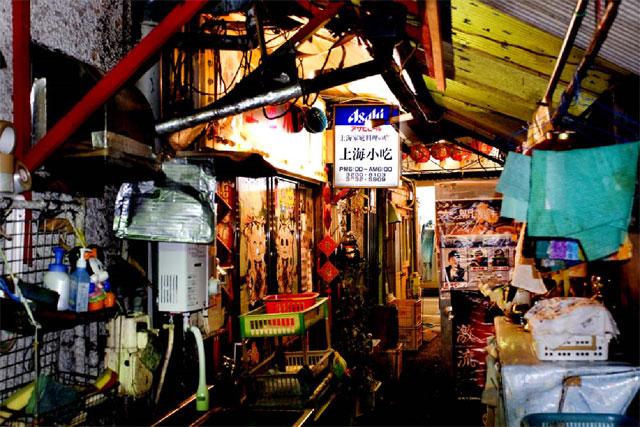 歌舞伎町の中華料理店